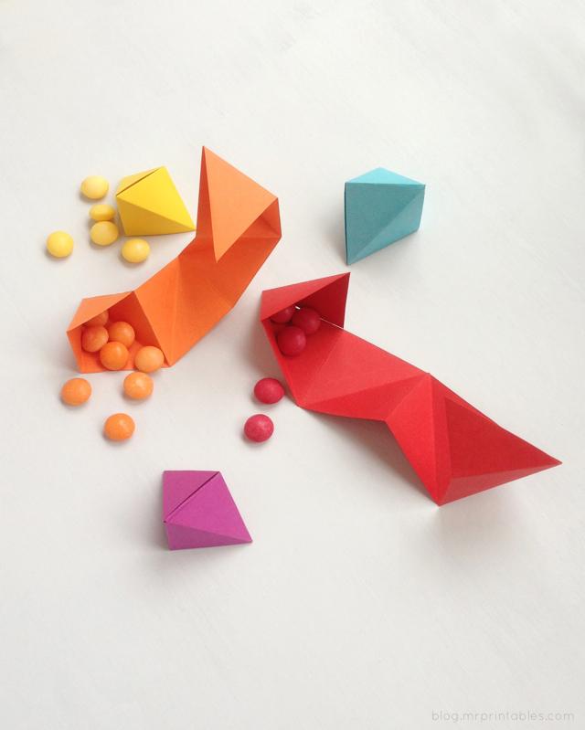 DIY-origami-party-favor