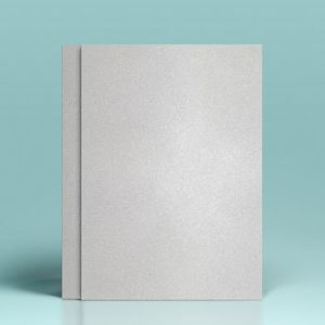 Carton alb cu sclipici - A4