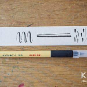 Brush pen Bimoji Kuretake - Medium