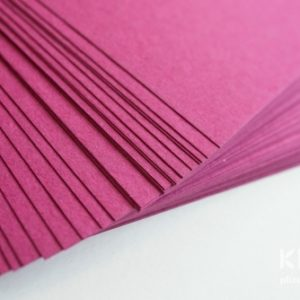 Carton colorat reciclat A3 - fuchsia