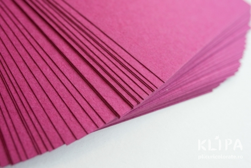 Carton colorat reciclat A3 - fuchsia