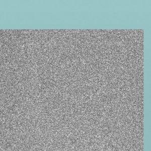Carton argintiu cu sclipici - A4