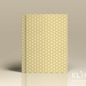 Carton decorat A4 - Cream Ivory dots - 5 buc