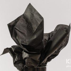 Hartie de matase - negru - 24 buc