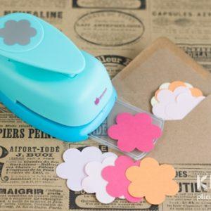 Perforator floare super - 5cm - 6 petale