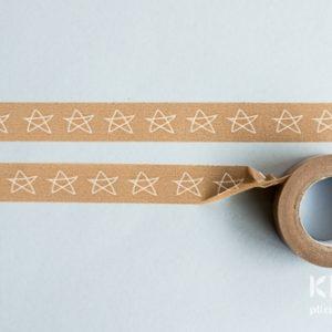 Banda adeziva decorata 8m - STARS