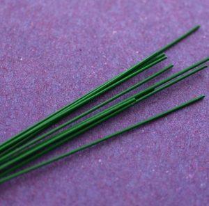 Sarma verde florala 0.8mm - 10 buc
