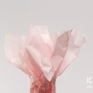 Hartie de matase - roz deschis - 24 buc