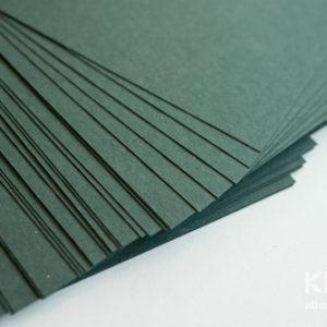 Carton colorat reciclat A4 - verde padure