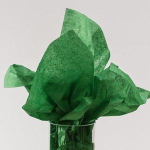 Hartie de matase - verde padure - 24 buc