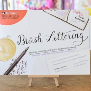 Set exercitiu brush lettering