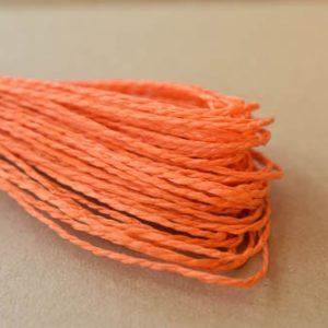 Snur de hartie portocaliu - 30 m