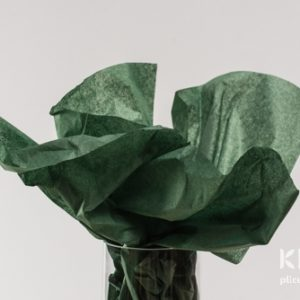 Hartie de matase - verde imperial - 24 buc