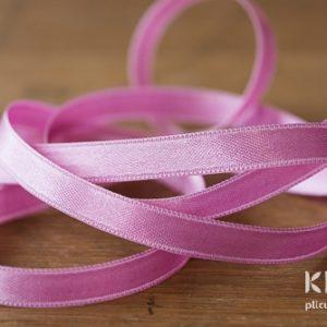 Panglica satinata roz pastel