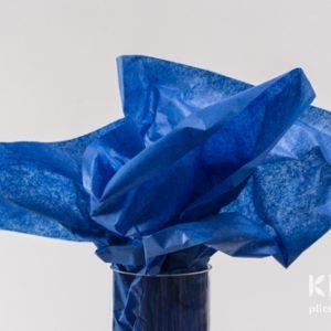 Hartie de matase - albastru - 24 buc