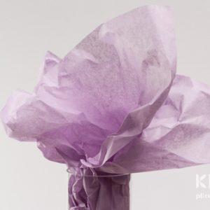 Hartie de matase - lila deschis - 24 buc