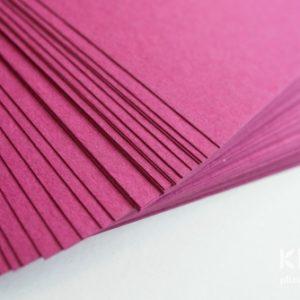 Carton colorat reciclat A4 - fuchsia