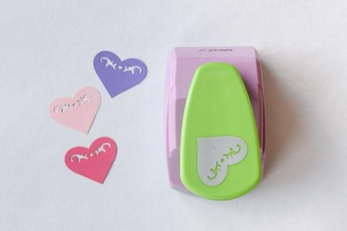 Perforator hobby - 4.5 cm - inima
