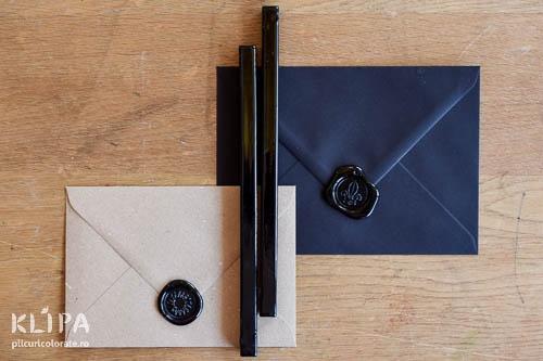 Baton de ceara - negru - 1 buc
